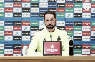 Pablo Machín, entrenador del RCD Espanyol. FOTO: RCD Espanyol
