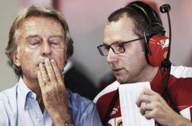 Domenicali (right) had been in charge since 2008