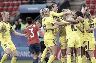 Gols e melhores momentos Suécia 5x1 Tailândia pela Copa do Mundo de Futebol Feminino