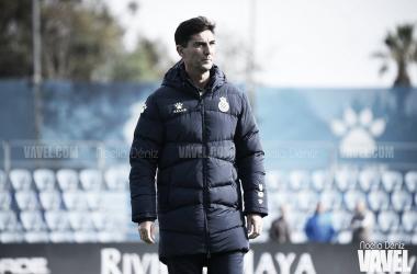 José Aurelio Gay, entrenador del Espanyol B. FOTO: Noelia Déniz