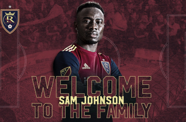 Johnson es el delantero de Real Salt Lake