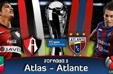 Resultado Atlas - Atlante en Liga MX (0-1)