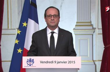 """François Hollande : """"Dans cette épreuve, je vous l'assure, nous sortirons encore plus fort"""" (Photo RTL.fr)"""