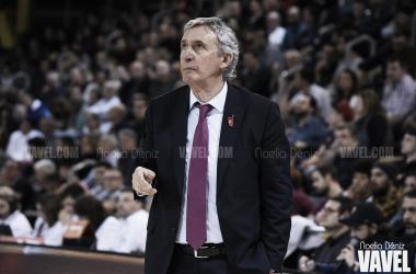 Svetislav Pešić, entrenador del FC Barcelona Basket. FOTO: Noelia Déniz
