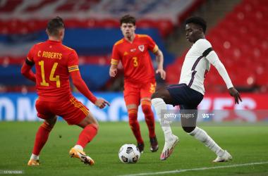Bukayo Saka handed first England cap