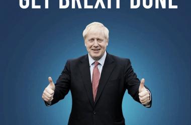 El cartel electoral del 12D del Partido Demócrata / Foto: perfil oficial de Facebook de Boris Johnson.