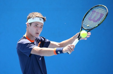 Karimov reached the final of the junior Australian Open event in 2016