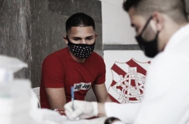 Bangu retoma atividades da equipe sub-20 após os exames de Covid em Moça Bonita