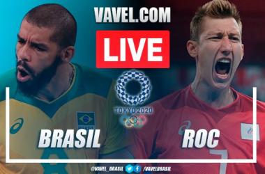 Resultado Brasil x Rússia nas semis do vôlei masculino em Tokyo 2020 (1-3)