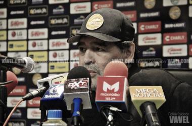 Diego Armando Maradona. Fotografía: Nallely Calderón   VAVEL México