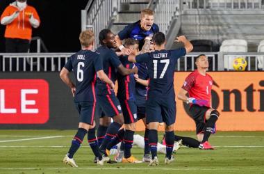 USMNT Dominates El Salvador in the final match of 2020