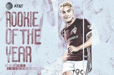 Andre Shinyashiki, MLS Rookie del Año 2019