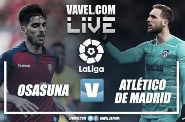 Resumen Club Atlético Osasuna vs Atlético de Madrid