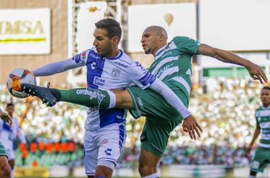 Santos y Pachuca no cumplieron con las expectativas generadas en su duelo de la jornada 13. (Foto: Club Laguna)