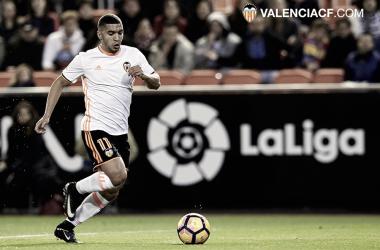 Última temporada del Bakkali con el Valencia CF | Fuente: Valencia CF