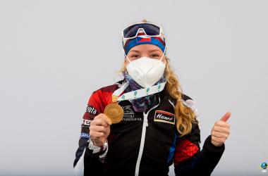 Premier titre mondial pour Marketa Davidova.