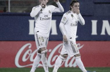 Fede Valverde dedica su gol/ Foto: Real Madrid C.F