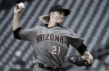 Greinke en un partido con los Diamondbacks / Foto: Associated Press