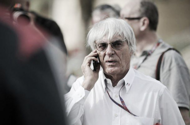 No longer calling the shots: Ecclestone faces a fight for control of F1.