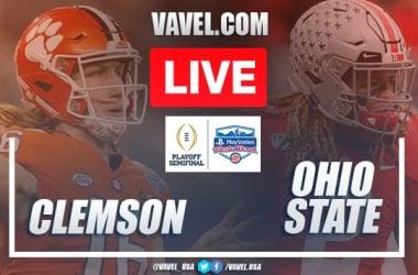 Clemson Tigers vs. Ohio State Buckeyes: Live Stream, Score Updates in College Football Semifinal (29-23)