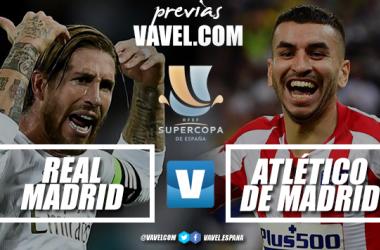 Previa Real Madrid CF - Atlético de Madrid: un nuevo derbi decide un nuevo título