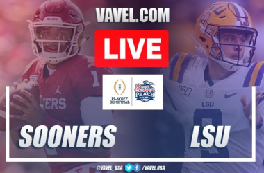 Oklahoma Sooners vs LSU Tigers: Live Stream and Score Updates in NCAA Semifinal (28-63)