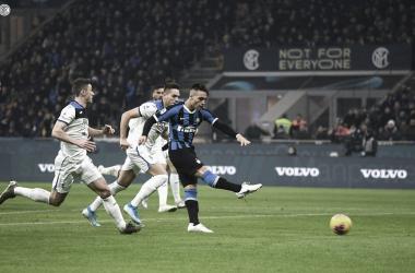 El negriazul volvió a dejar la cima de la Serie A en peligro | Fotografía: Internazionale