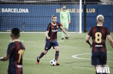 El postpartido: Carles Aleñá, Jordi Alba y Óscar Mingueza analizan la victoria del Barcelona ante el Dinamo