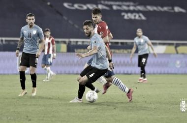 Bentancur es el jugador del partido ante Paraguay
