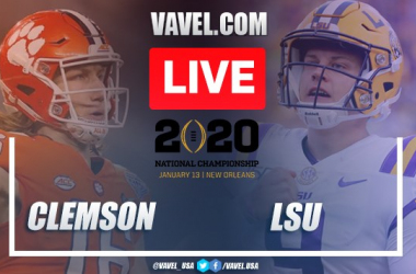 Clemson vs. LSU: LIVE Stream and Score Updates (25-42)