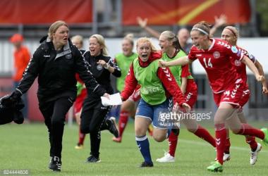 Euro 2017: Germany 1-2 Denmark: Holders stunned by second half turnaround