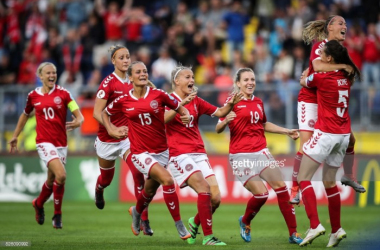 Euro 2017: Denmark (3) 0-0 (0) Austria - Danes victorious from the spot