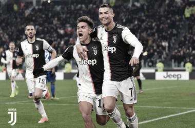 Con doblete de Cristiano Ronaldo, Juventus ganó 2-1 a Parma | Fotografía: Juventus
