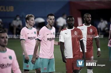 Barça vs Girona pretemporada 2020-2021| Foto Noelia Déniz