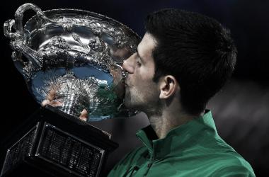 Nole, el más ganador del Abierto de Australia Foto: Australian Open