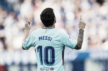 De la mano de Messi
