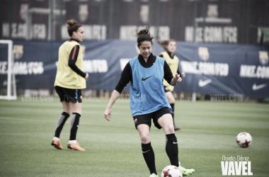 Marta Torrejón en un entrenamiento | Foto de Noelia Déniz, VAVEL