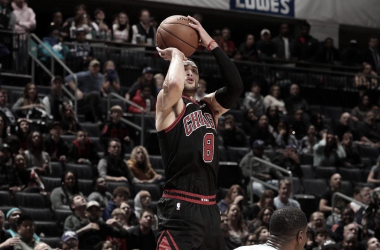 LaVine to participate in 3-point contest at All-Star weekend