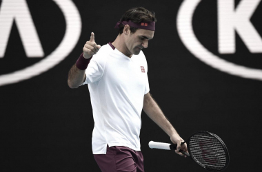 'Houdini Act' by Roger Federer