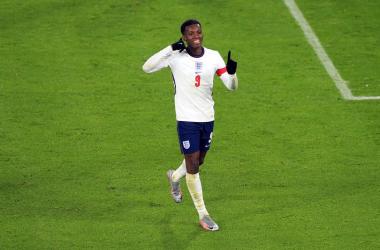 Eddie Nketiah becomes England U21 record scorer as Young Lions qualify for Euro 2021
