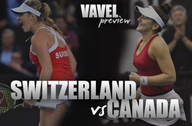 Fed Cup Qualifiers Preview: Switzerland vs Canada