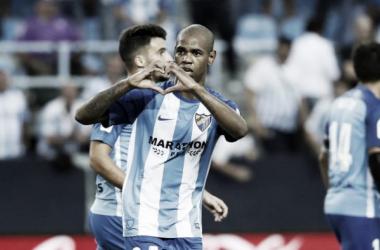El Málaga se aferra a los goles de los fichajes