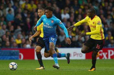 Uno scatto del match dell'andata, vinto dal Watford per 2-1