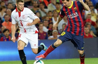 Após tropeço, Barcelona enfrenta o Sevilla buscando recuperação no Campeonato Espanhol