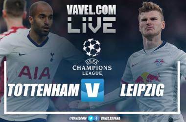 Resumen del Tottenham Hotspur 0-1 RB Leipzig en la ida de los Octavos de la Champions League 2020