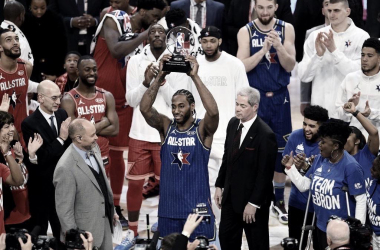 Kawhi Leonard wins All-Star Game MVP