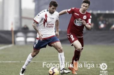 Imagen del último partido disputado ante el Deportivo de La Coruña. | Fotografía: La Liga