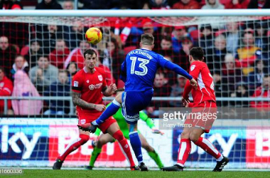 <div>Bristol City v Cardiff City - Sky Bet Championship</div><div><br></div><div>BRISTOL, UNITED KINGDOM - JANUARY 14: Anthony Pilkington of Cardiff City scores his side's third and winning goal during the Sky Bet Championship match between Bristol City and Cardiff City at Ashton Gate on January 14, 2017 in Bristol, England. (Photo by Harry Trump/Getty Images)</div>