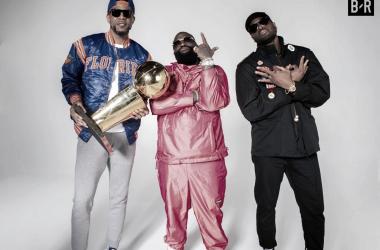 Dwyane Wade makes rap debut alongside Rick Ross