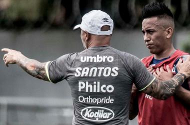 """Paulo Autuori afirma que Cueva está fora dos planos no Santos: """"Sampaoli foi claro"""""""